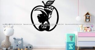 Free vector sleeping beauty apple
