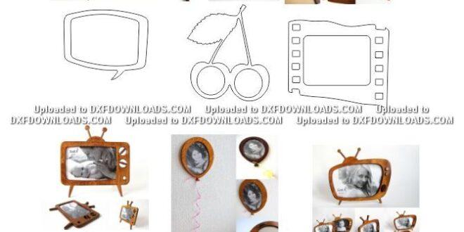 Free wall frames vectors to cut