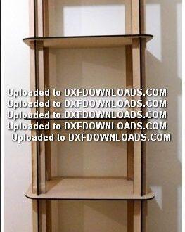 Free modular shelf