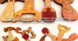 Tools puzzle Free cut vectors