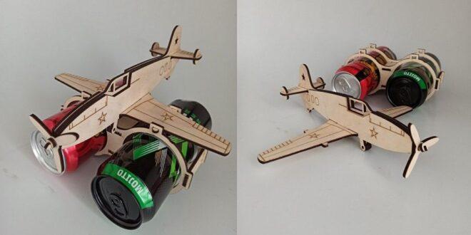 Cnc laser cut Aircraft aluminum cans 3.3mm