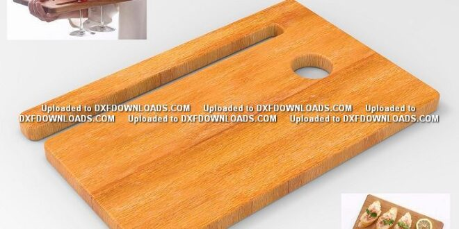 Serving Board free vector for wood cnc cut