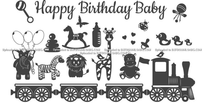 Birthday baby svg free
