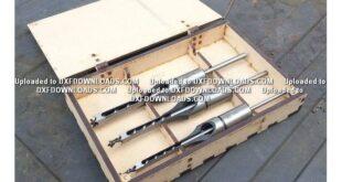 Free laser cut design drill box