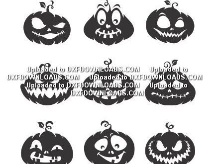 Pumpkins halloween free svg