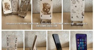 Free set phone holder 3mm