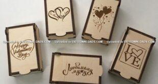 Free pack valentine gift box