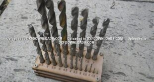 Free Cnc tools drill holder