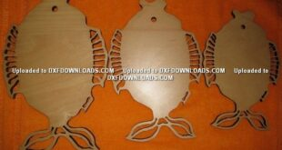 Free Fishboard Cnc cut File