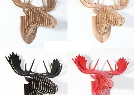 Cnc file Free Deer's head 2