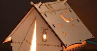 Lamp Tent Free CDR File Cut