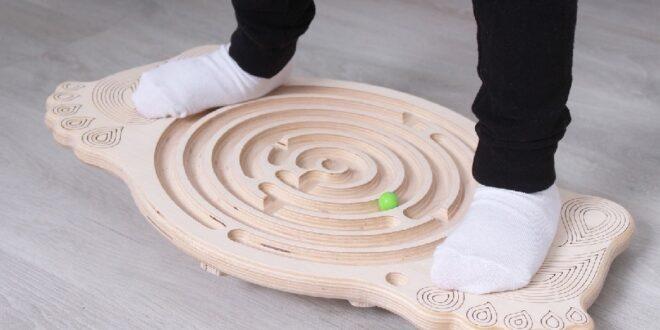 Free Cnc Layout Cut balancer labyrinth Toy Kids