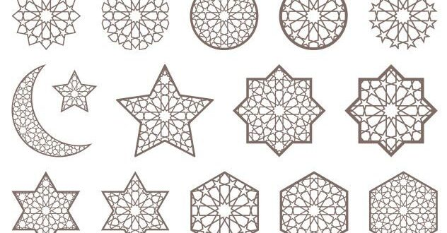Arabic stars free download cdr silhouette