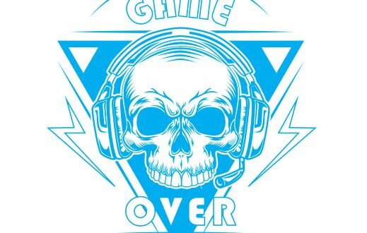 Game over svg free file vector
