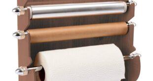 Free Wooden napkin holder for kitchen