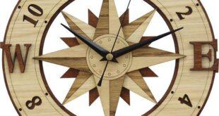 Free cnc cardinal points clock