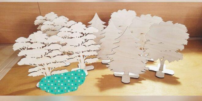 Tree decor laser cut