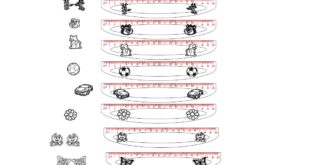 Set Rulers Models to laser cut and engraving acrylic CDR and DXF
