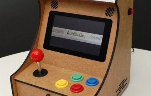 Free arcade box cnc cut template