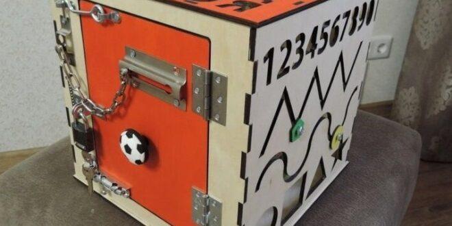 Free laser cut Busy board for kids