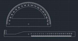 grade protractor for laser cutting and engraving