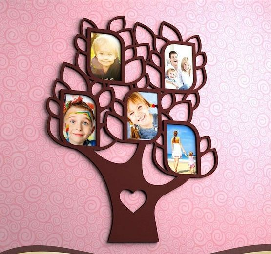 Photo tree wall panel 10×15 photos and 66×50 size