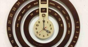 infinite calendar wall clock free