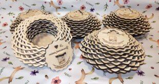 6mm candy bowl free design cnc cut wood