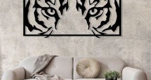 Free wall panel Eyes of the Tiger